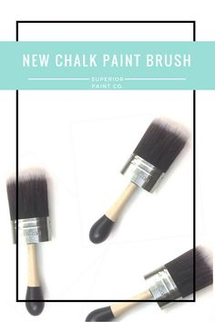 The new Cling On Chalk paint brush for furniture refinishing and chalk painting - must have tool for every DIY-ER Chalk Paint Brushes, Chalk Painting, Furniture Refinishing, Furniture Makeover, Must Have Tools, Paint Techniques, Dry Brushing, Diy, Bricolage