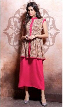 Party Wear Straight Cotton Readymade Tops in Deep Pink Color | FH525779538 #kurtis , #kurtas , #tunic , #top , #fashion , #clothing , #women , #heenastyle , #ladies , @heenastyle  , #teenagers , #girls , #style , #mode , #mehendi , #diwali #utsavfashion , #fashion , #boutique , #online , #colors , #dresses , #christmas , #party , #dresses , #shopping , #sequin , #peplum , #xmas , #outfit , #black , #red , #colors , #collection , #novelty , #print, #themed , #2016 , #stunning , #swing