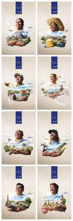 LAN Airlines Publicidad creativa Amantes de las Marcas. @amantesdelasmarcas