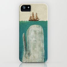 Moby iPhone Case. Not that I have an iphone, but if I did, then I'd want this.
