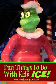 ICE: Fun Things to Do With Kids- Sunshine Whispers  http://www.sunshinewhispers.com/2015/11/should-you-take-your-kids-to-ice-at-the-gaylord-national/