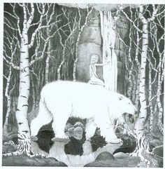 King Valamon the Polar Bear by Hilde Kramer