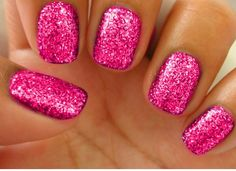barbie nails, this is how i´m gonna wear my nails for summer.