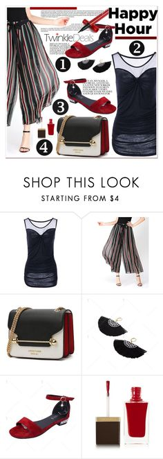 """""""Bottoms Up: Happy Hour 59"""" by spenderellastyle ❤ liked on Polyvore featuring Tom Ford, happyhour, polyvoreeditorial and twinkledeals"""
