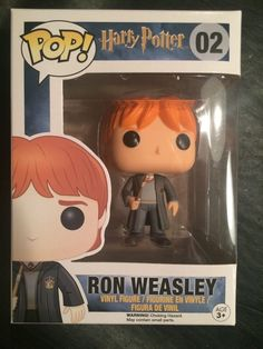 Funko Pop! Harry Potter 02 Ron Weasley Mint New