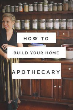 Herbal Medicine How to build an apothecary for your home - Discover how to build your own herbal apothecary at home and the tools you need to easily bring herbalism into your everyday life. Healing Herbs, Medicinal Herbs, Natural Healing, Natural Home Remedies, Herbal Remedies, Health Remedies, Holistic Remedies, Natural Remedies For Headaches, Natural Medicine