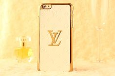Fashion Weeks Louis Vuitton iPhone 6s/6s Plus Case - Beige - Luxury iPhone6S Case