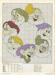 Rich Schemes gives Items: Disney. ☀CQ #crochet #knitting #graphghans #charts #graphs #schemes