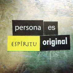 Persona es espíritu