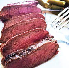 This Venison Backstrap Recipe is Too Good Not to Share Deer Backstrap Recipes, Deer Tenderloin Recipes, Deer Steak Recipes, Venison Tenderloin, Deer Recipes, Venison Recipes, Roast Recipes, Game Recipes, Venison Meals