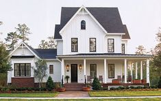 Farmhouse Home Plans - Farmhouse Style Home Designs from HomePlans.com