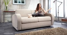 Jay-Be - Retro Sofa Beds - Chair - 2 Seater - 3 Seater Options - Unique Roll-Out Action with a Deep Sprung Mattress - Woven Fabric in 7 Colours Sofa Bed 2 Seater, Sofa Bed Home, Sofa Bed Design, Retro Sofa, Bright Homes, Chair Bed, Mattress Springs, Comfortable Sofa, Bed Styling