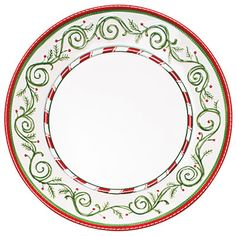 choose your christmas china southern living set of four dinner plates by oneida
