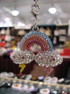 Sachi Designs Swarovski crystal Frenzie by Tokidoki  www.sachidesigns.com