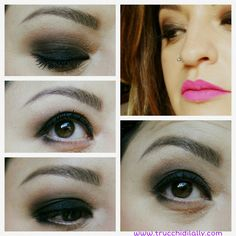 Make-up inspiration  Trucco occhi smokey eyes e Cream lip stain  #makeup #trucco #makeupaddict #makeupinspiration #makeupoftheday  #sephora #kiko #maxfactor #benefit #loreal #lagirl #trucchidilally