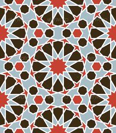 Arabesque Seamless Pattern - Patterns Decorative
