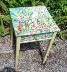 Painted Furniture by Sissi Janku