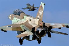 Barak Israel Air Force by Nir Ben-Yosef, via Fighter Pilot, Fighter Aircraft, Fighter Jets, Military Jets, Military Aircraft, F 16 Falcon, Defence Force, Military Equipment, Armed Forces