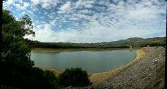 Lago Scansano,  un lago artificiale in provincia di Palermo. It's an artificial lake near Palermo.