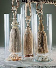 Diy Tassel, Tassel Jewelry, Tassels, Tassel Necklace, Diy Pompon, Drapery Tie Backs, Bali Decor, Tassel Curtains, Macrame Plant Hangers