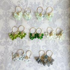 Pin by Lea Plagens on Bead bracelets Wire Wrapped Jewelry, Wire Jewelry, Jewelry Crafts, Beaded Jewelry, Jewelery, Beaded Bracelets, Earrings Handmade, Handmade Jewelry, Pinterest Jewelry