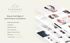 Eveprest - PrestaShop multipurpose responsive theme is a aimed to meet each and every of your eCommerce needs. It was developed with the application of the Professional Web Design, Design Fields, Wordpress Template, Website Template, Ecommerce, Innovation, Spare Parts, Children, Kids