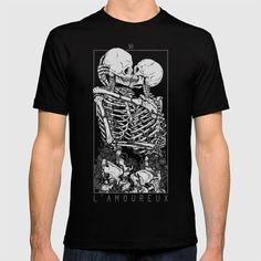 Buy The Lovers T-shirt by deniart. Worldwide shipping available at Society6.com. Just one of millions of high quality products available.