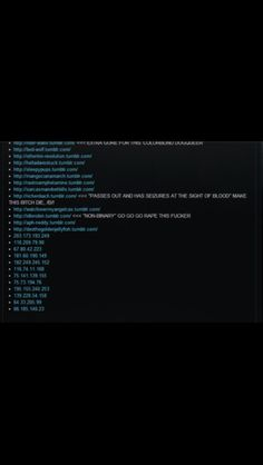 Guys if you have a tumblr post this..if your on this list please please stay safe.. Try to not use these tags... 4chan is raiding tumblr and we need to stay safe during this.. Don't start anything with these guys.. If your on the list close your asks boxes and keep anon on if you can't close your boxes..