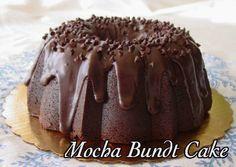 Scrumptious Mocha Bundt Cake! #coffee