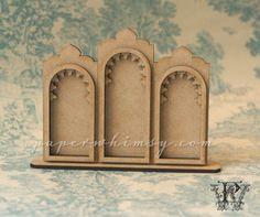 Ornate Gothic Triptych