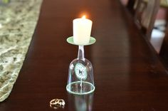 Tutorial: Monogram Candle Holder - perfect for weddings!