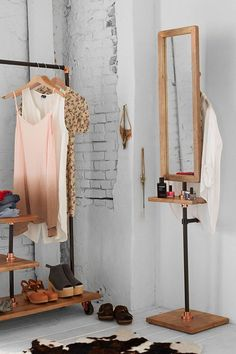 4040 Locust Industrial Storage Valet Stand - Urban Outfitters