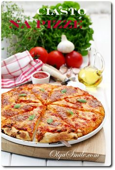 Ciasto na pizze #intermarche #pizza Pizza Dough, Pizza Recipes, Vegetable Pizza, Quiche, Hamburger, Veggies, Bread, Snacks, Dinner