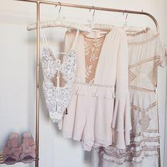The Kate Body Suit, Emelia Romper & Winona Midi