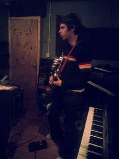 """Bass Face"" - Recording with Alan Coleman 02/01/2013"