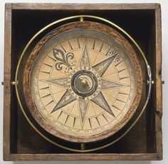 Mariner's compass c. 1750 (National Maritime Museum, London)
