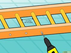 How to Build Monkey Bars. With a little elbow grease and ingenuity, you can make your own set of monkey bars using some planks of wood, screws, and bars that you can purchase online or at a hardware store. Diy Monkey Bars, Indoor Monkey Bars, Outdoor Swing Sets, Outdoor Play Areas, Outdoor Games, Water Games For Kids, Indoor Activities For Kids, Summer Activities, Family Activities