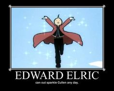 Only Edward Elric and Major Armstrong are allowed to sparkle ;)  | ↠@ambika95↞