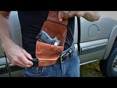 The Urban Carry Holster might just be your next purchase. Click through to learn more about this deep concealment holster and see a useful demo video.