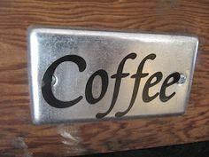 Sew Many Ways...: Coffee Bar...
