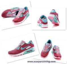 official photos cc927 b522c scarpe eleganti Rosso Blu 654468-012 Nike Air Max Lunar 90 JCRD Donna  acquisti on line scarpe