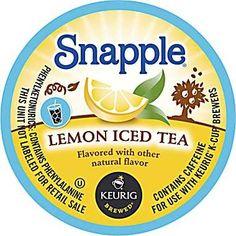 Snapple Lemon Iced Tea K-Cups