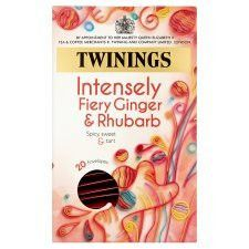 Twinings Intense Ginger and Rhubarb 20 Tea Bags 40g