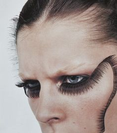 Agota Varga ejakulation: Trish Goff photographed by Richard Bush for V circa 2001 Make Up Looks, Makeup Brushes, Eye Makeup, Hair Makeup, Kids Makeup, Makeup Inspo, Makeup Inspiration, Beauty Make Up, Hair Beauty
