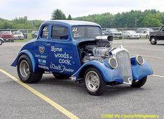 Legendary Gasser.  33 Willys