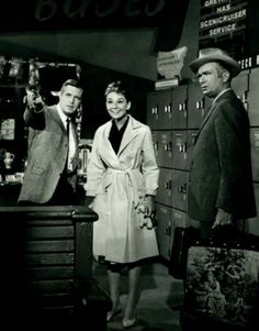 On the set of Breakfast at Tiffany's - Audrey Hepburn