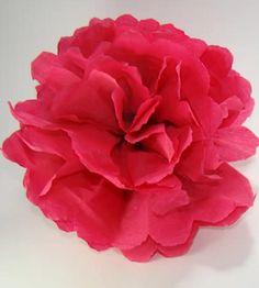 imagenes de flores de papel crepe roja                              …