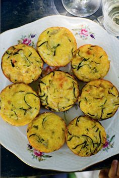 zucchini flans from mimi thorisson's blog, Manger