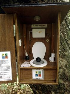 Funny cache container - Czech I think.