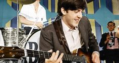 #PaulMcCartney at rehearsals for The Ed Sullivan Show, Miami, 16th February 1964 #TheBeatles